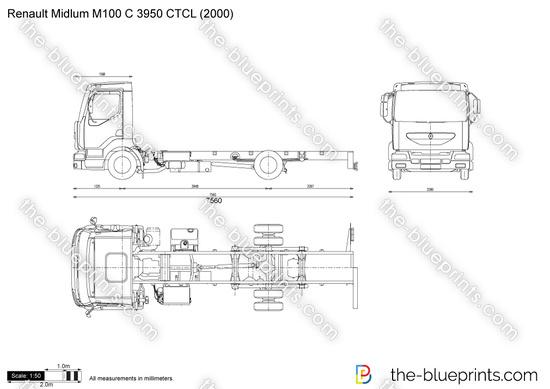 Renault Midlum M100 C 3950 CTCL