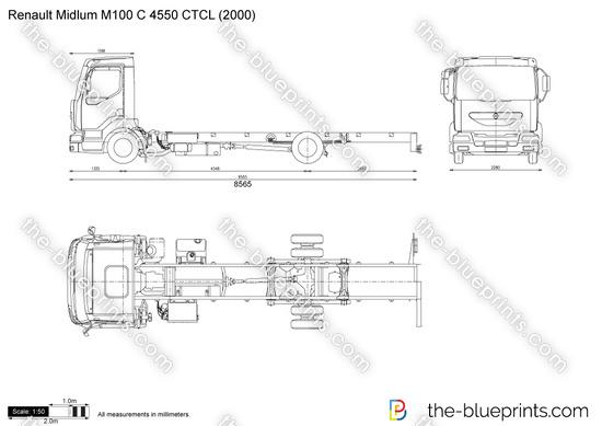 Renault Midlum M100 C 4550 CTCL