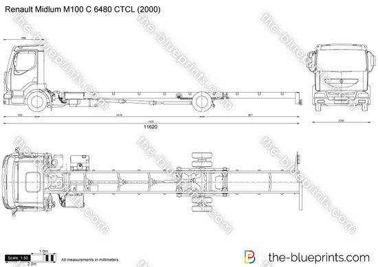 Renault Midlum M100 C 6480 CTCL