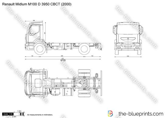 Renault Midlum M100 D 3950 CBCT