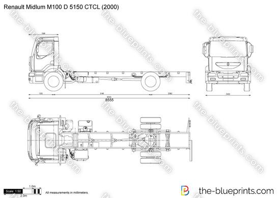 Renault Midlum M100 D 5150 CTCL