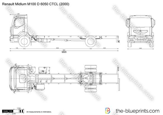 Renault Midlum M100 D 6050 CTCL