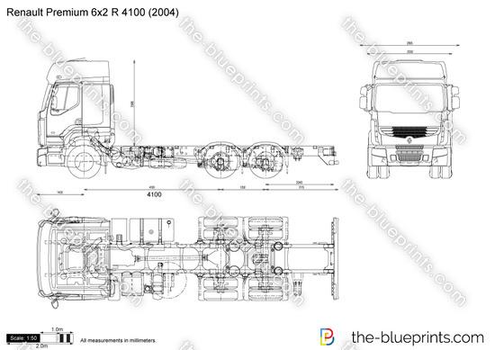 Renault Premium 6x2 R 4100