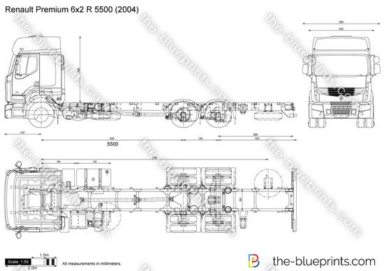 Renault Premium 6x2 R 5500