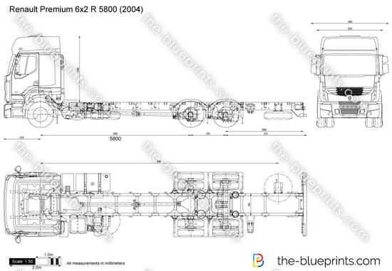 Renault Premium 6x2 R 5800