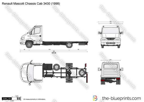 Renault Mascott Chassis Cab 3430