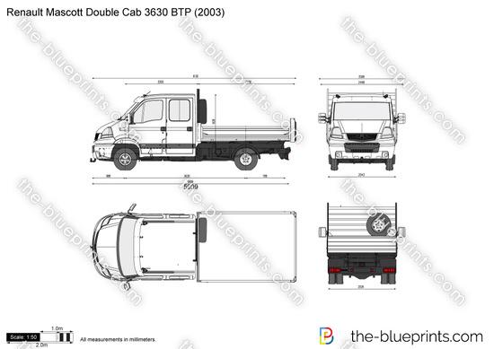 Renault Mascott Double Cab 3630 BTP