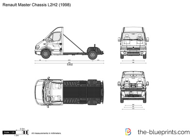 Renault Master Chassis L2H2