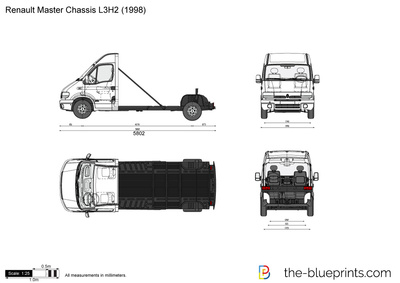 Renault Master Chassis L3H2