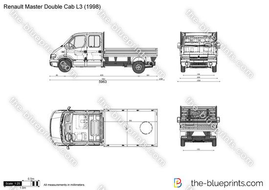 Renault Master Double Cab L3