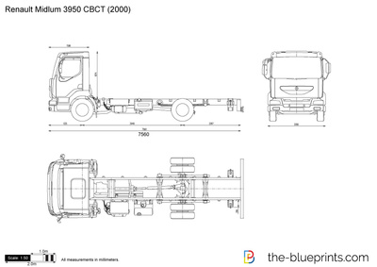 Renault Midlum 3950 CBCT