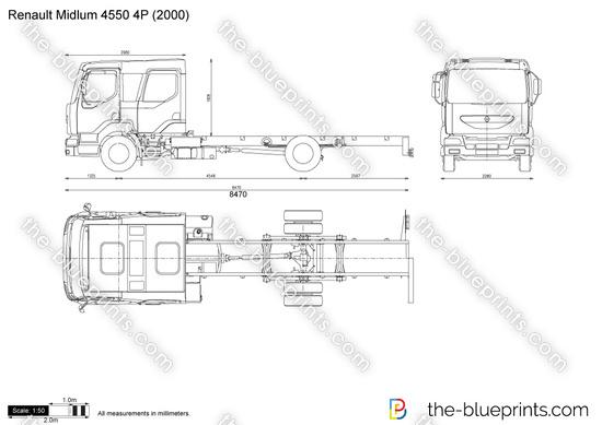 Renault Midlum 4550 4P