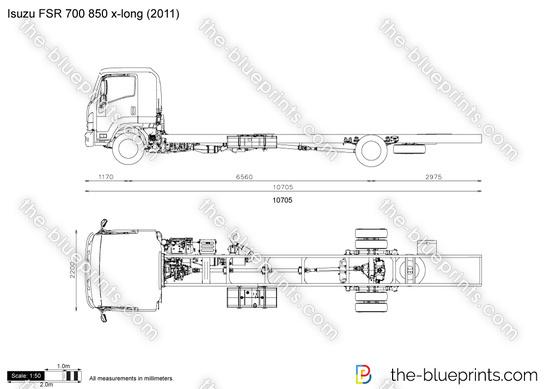 Isuzu FSR 700 850 x-long