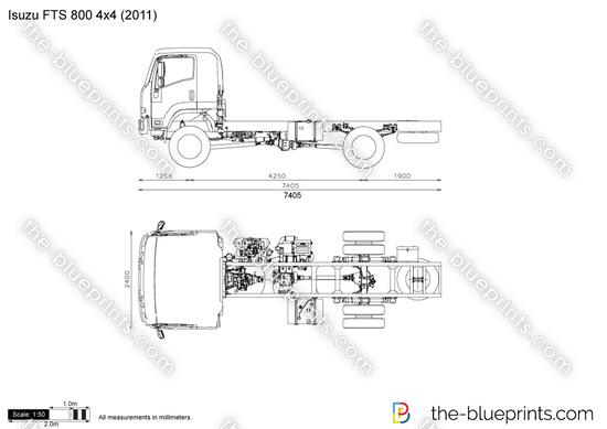 Isuzu FTS 800 4x4