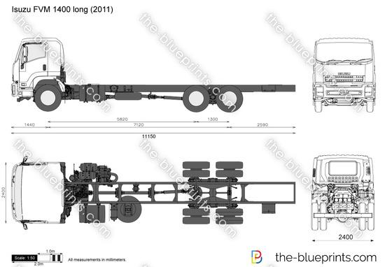 Isuzu FVM 1400 long