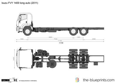 Isuzu FVY 1400 long auto