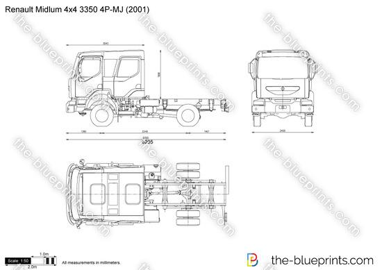 Renault Midlum 4x4 3350 4P-MJ