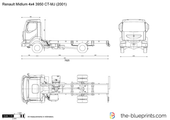 Renault Midlum 4x4 3950 CT-MJ