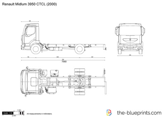 Renault Midlum 3950 CTCL