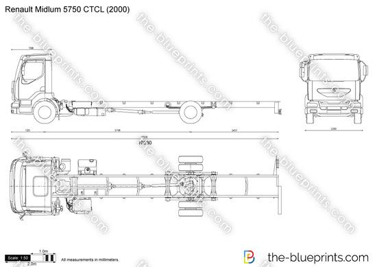 Renault Midlum 5750 CTCL