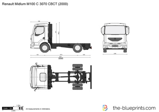 Renault Midlum M100 C 3070 CBCT