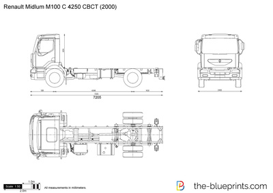 Renault Midlum M100 C 4250 CBCT