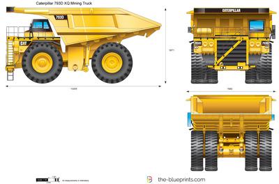 Caterpillar 793D XQ Mining Truck