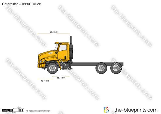 Caterpillar CT660S Truck