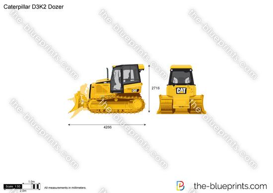 Caterpillar D3K2 Dozer
