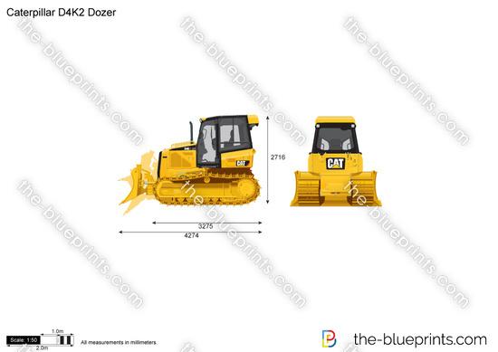Caterpillar D4K2 Dozer
