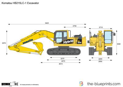 Komatsu HB215LC-1 Excavator