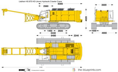 Liebherr HS 875 HD Litronic Hydraulic Crawler Crane