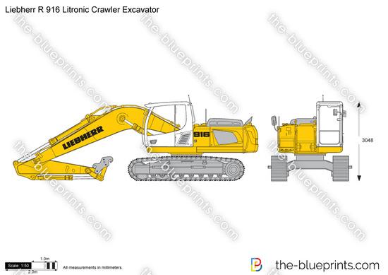 Liebherr R 916 Litronic Crawler Excavator