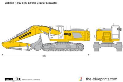 Liebherr R 950 SME Litronic Crawler Excavator