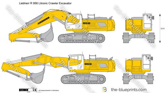 Liebherr R 956 Litronic Crawler Excavator