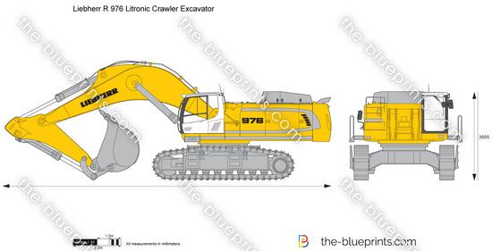 Liebherr R 976 Litronic Crawler Excavator