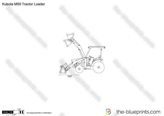 Kubota M59 Tractor Loader