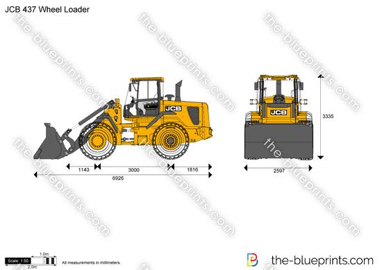 JCB 437 Wheel Loader
