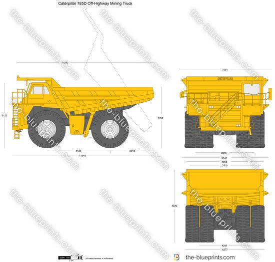 Caterpillar 785D Off-Highway Mining Truck