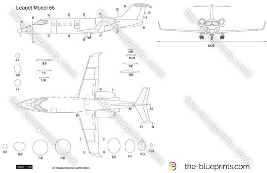 Learjet Model 55