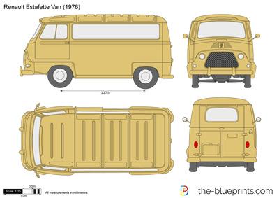Renault Estafette Van