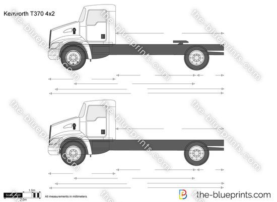 Kenworth T370 4x2