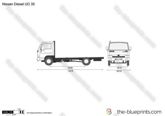 Nissan Diesel UD 35