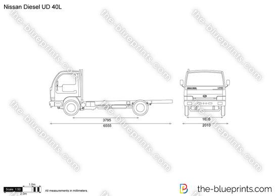 Nissan Diesel UD 40L