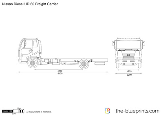 Nissan Diesel UD 60 Freight Carrier