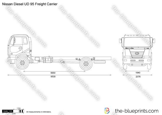 Nissan Diesel UD 95 Freight Carrier