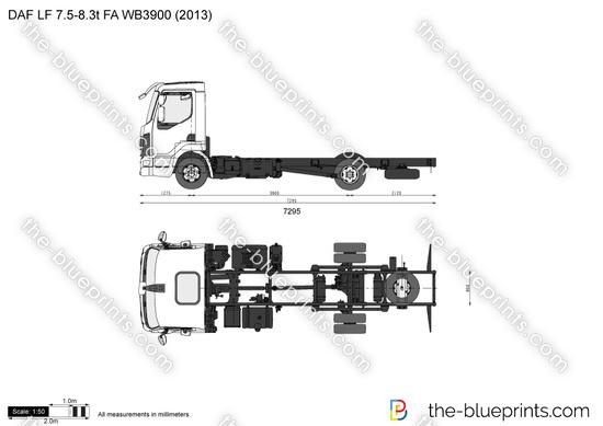 DAF LF 7.5-8.3t FA WB3900