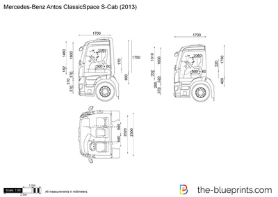 Mercedes-Benz Antos ClassicSpace S-Cab
