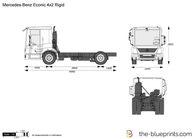 Mercedes-Benz Econic 4x2 Rigid