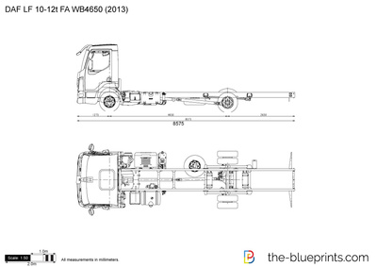 DAF LF 10-12t FA WB4650